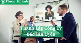 dịch vụ thành lập công ty tại Bắc Tân Uyên
